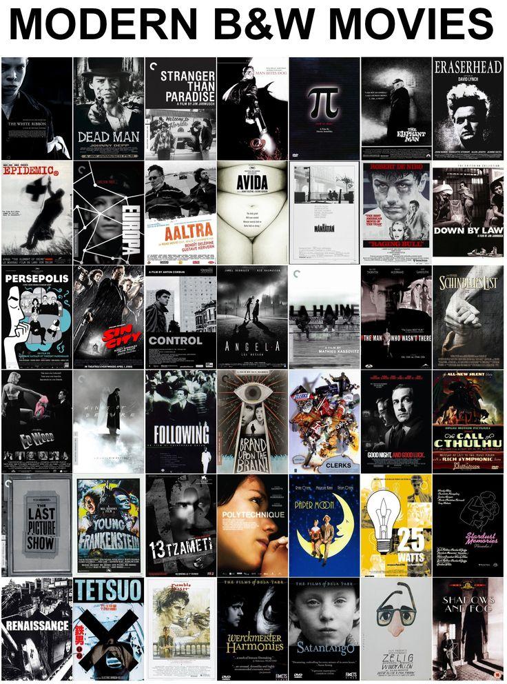 Modern Black and White Films Black and white movie