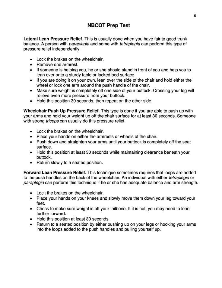 NBCOT Exam Study Resources - Pinterest