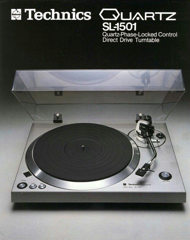 Technics SL-1501(1977) Vintage Audio Turntable
