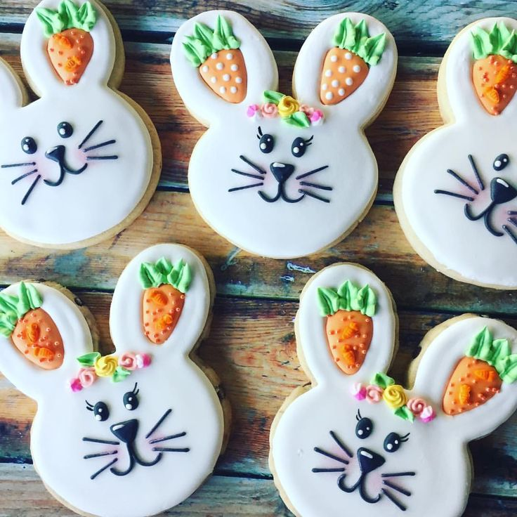 """105 Likes, 12 Comments - @colormefrosted on Instagram: """"How cute are these bunnies?!#colormefrosted #bunnycookies #eastercookies #madefromscratch…"""""""