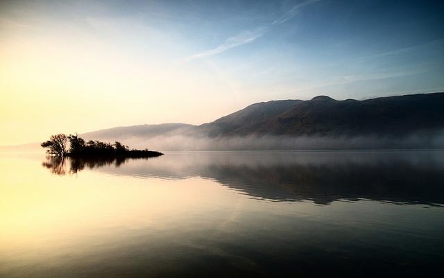 Sunrise, Tourmakeady, Lough Mask, Mayo, Ireland