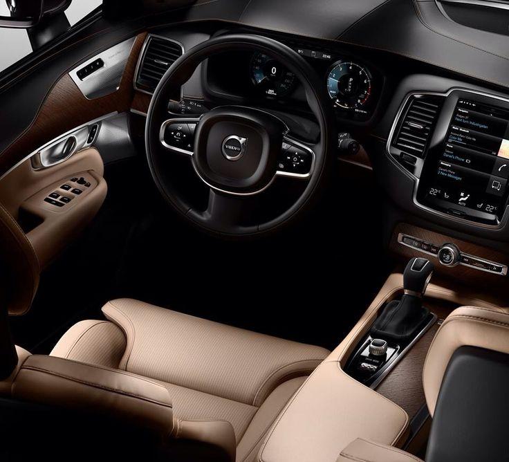 The all new Volvo XC90 interior