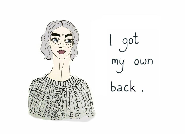 """I got my own back"", print by Basia Byra"