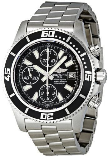 Breitling Men's A1334102/BA84SS Superocean Chronograph II Chronograph Watch : Watches | Best Luxury Watches Shop Discount Reviews $4,427.54