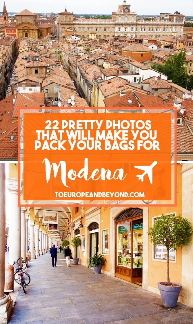 Not familiar with Modena? This idyllic town located on the flat plains of the sluggish Po River is home to some of Italy's most precious culinary traditions as well as an infinitely authentic, deeply magnetizing atmosphere that I have rarely seen in my travels. http://toeuropeandbeyond.com/photos-modena-travel/ #travel #Italy