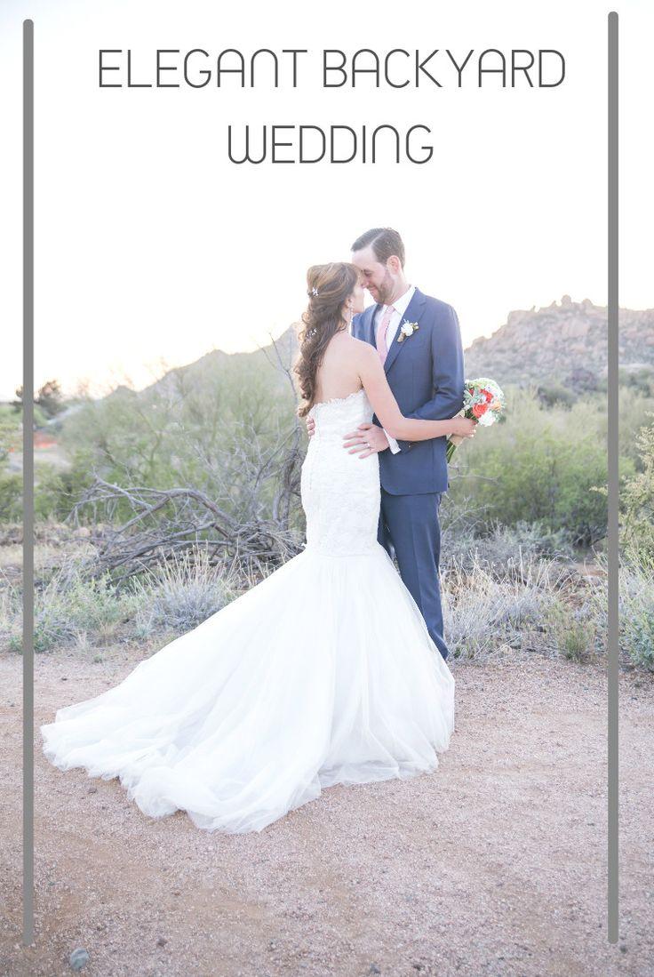 ELEGANT BACKYARD WEDDING  images by: Studio 616 Photography