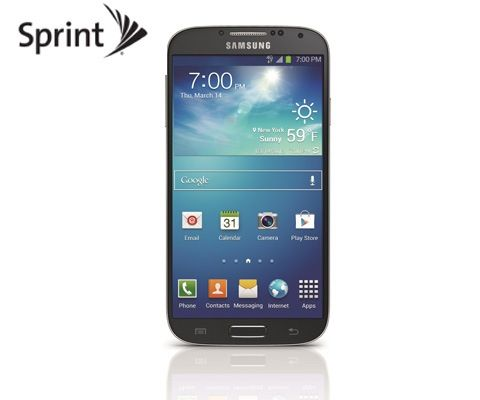 Samsung Galaxy S 4 from Sprint sweepstakes