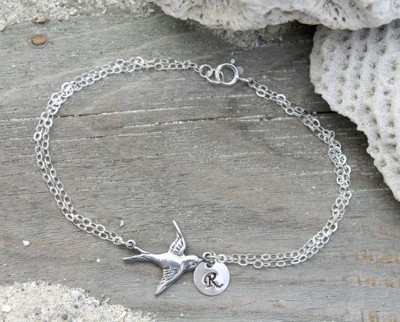 Personalized All 925 sterling silver initial door potionumber9