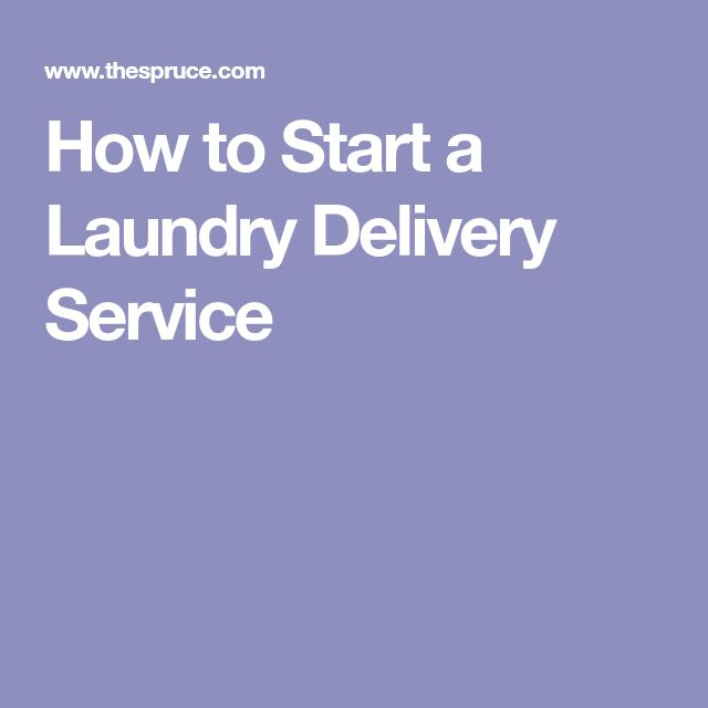 How to Start a Laundry Delivery Service