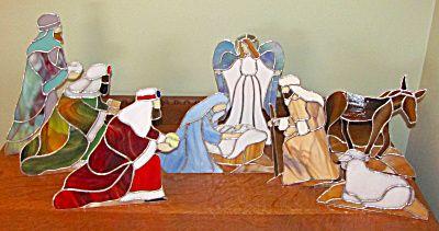 stained glass nativity patterns | NATIVUTY STAINED GLASS PATTERN | Browse Patterns