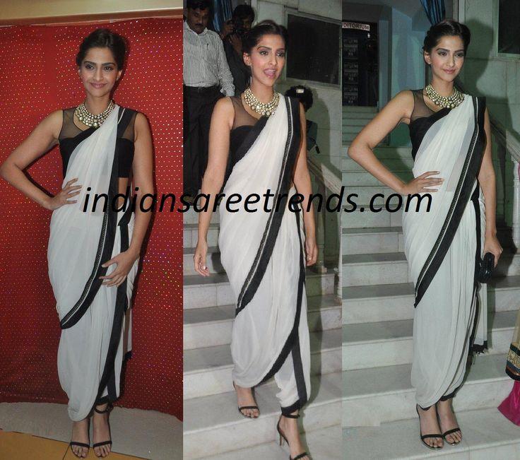 Tarun Tahiliani Saree - dhoti style