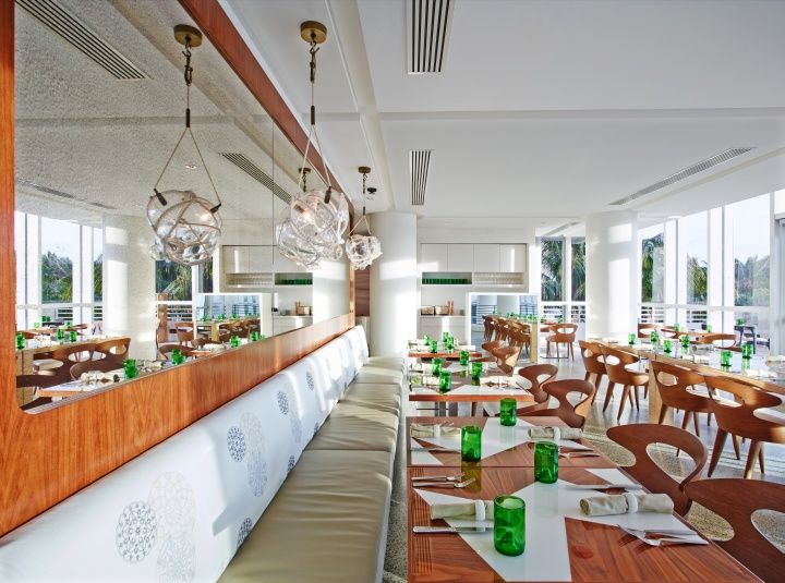 Florida Cookery At The James Royal Palm By Rottet Studio Miami Beach Cafe InteriorsRestaurant