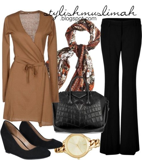 Hijab work outfit