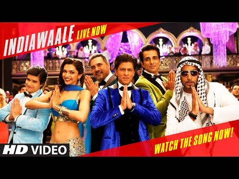 ▶ OFFICIAL: 'India Waale' Video Song - Happy New Year | Shah Rukh Khan | Deepika Padukone - YouTube
