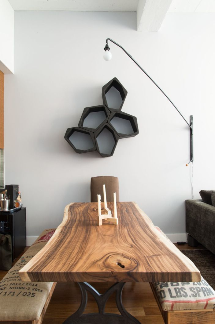 Modern, geometric art.
