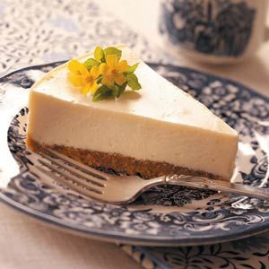 Eggnog Cheesecake Recipe from Taste of Home -- shared by Kristen Grula of Hazleton, Pennsylvania