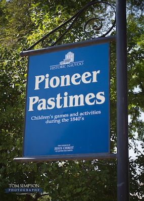 Nauvoo Pioneer Pastimes - how to play and build your own pioneer games [PDF]
