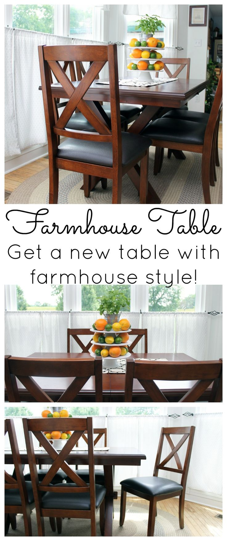 Farmhouse Table:  A New Addition