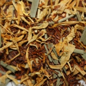 Organic Lemon Rooibos | The Path of Tea $8 for 2oz - Raise your spirits with red rooibos blended with lemon. Tastes great hot or cold. 2 Ounces Makes Approximately 20 Cups of Tea.