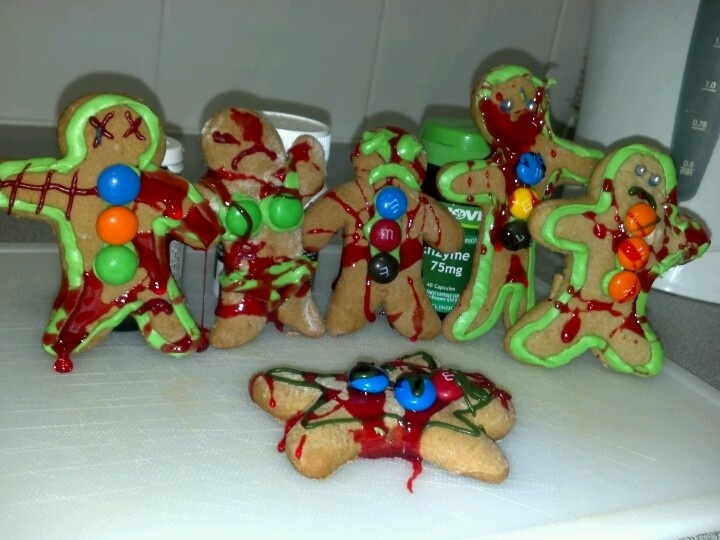 Ginger Dead Zombies