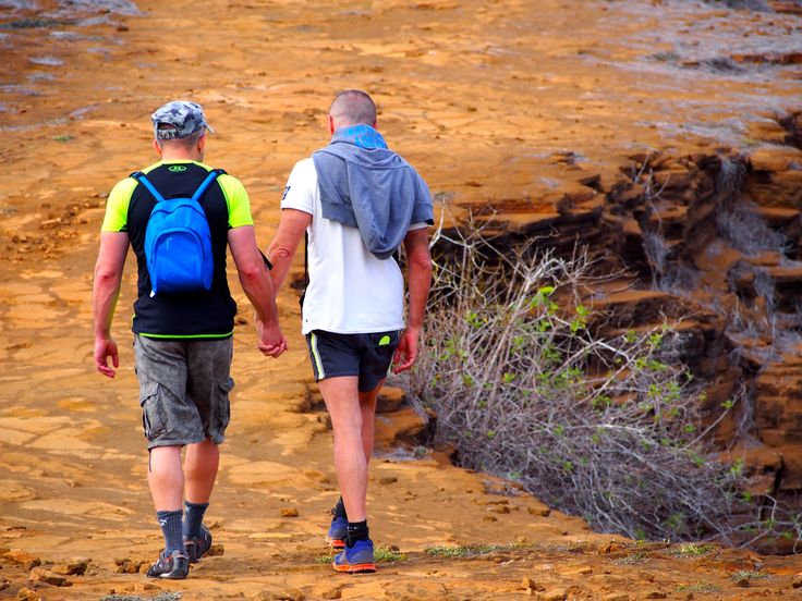 Galapagos is VERY gay-welcoming :) #gaytravel #outadventures #gaytour #yachtlife #guysthatTravel #OUTinGalapagos https://out-adventures.com/trip/lesbian-and-gay-ecuador-galapagos-gay-cruise/