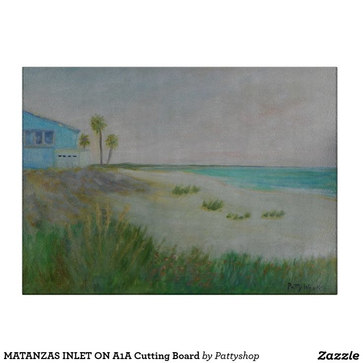Matanzas inlet on a1a cutting board cuttings and cutting for Matanzas inlet fishing