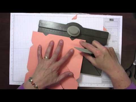 ▶ A Basket made with the Envelope Punch Board - YouTube