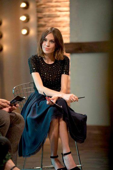 Alexa Chung's 24 Hour Catwalk Wardrobe - Alexa Chung's Wardrobe on Lifetime's 24 Hour Catwalk - Harper's BAZAAR