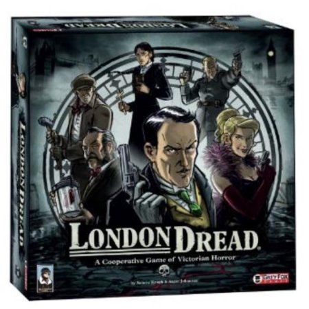 Grey Fox Games London Dread Board Game, Multicolor