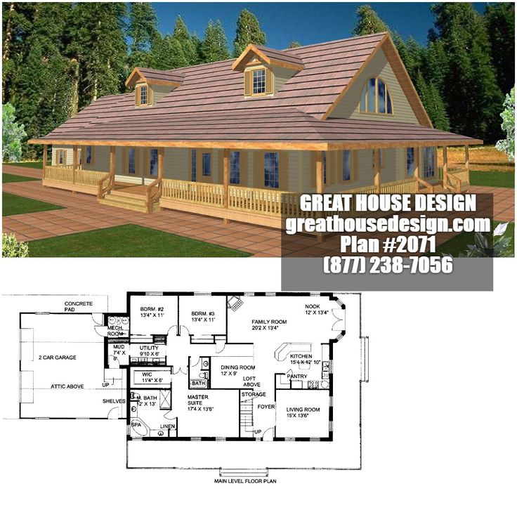 icf home designs%0A ICF Country House Plan        Toll Free