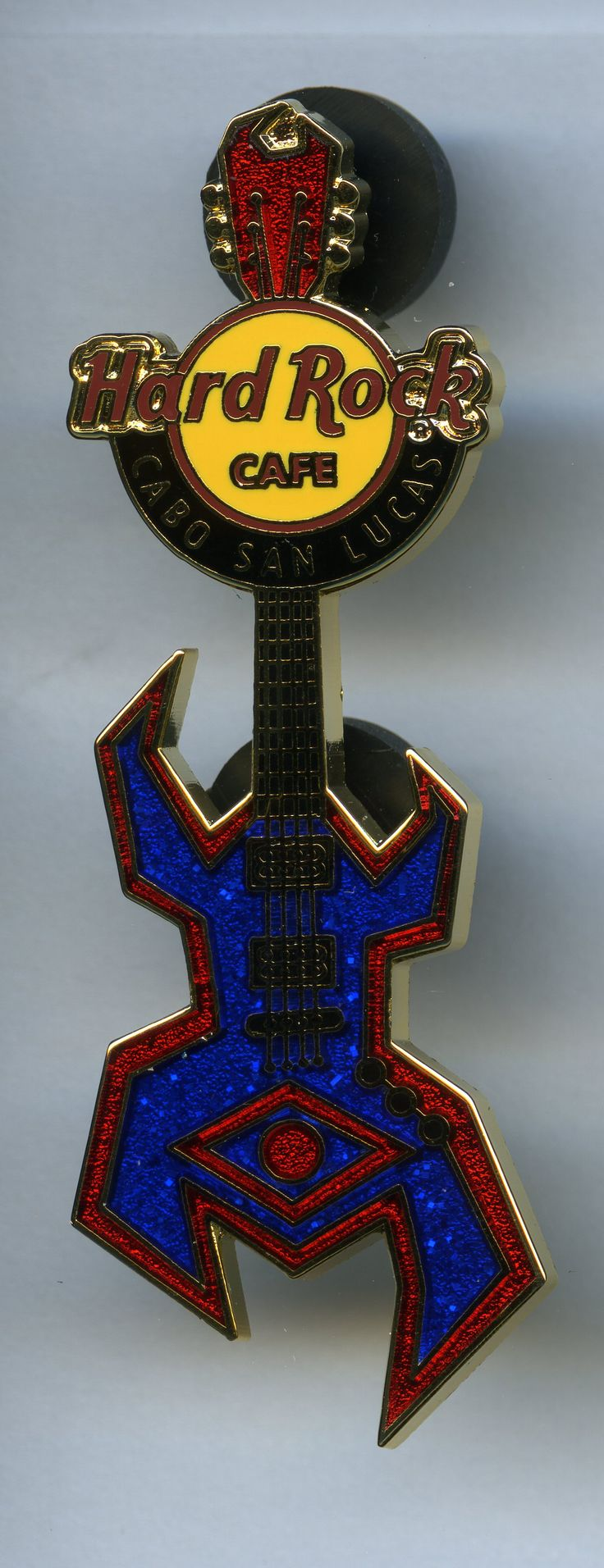 Cabo San Lucas - Hard Rock Cafe Guitar Pin
