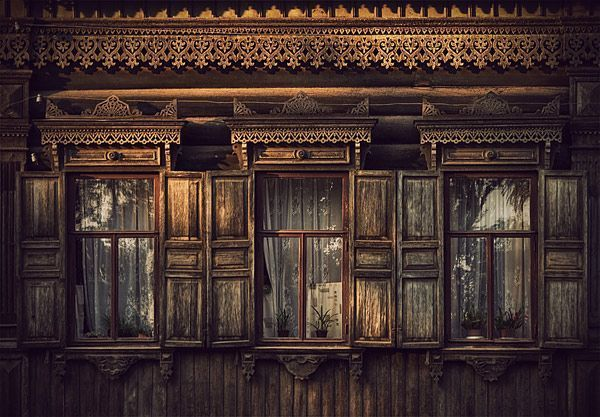Russian Wooden Houses 2