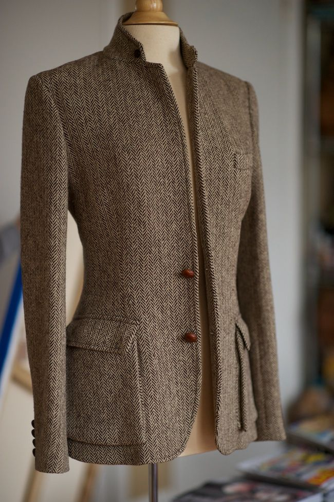 SHOP - Where Did U Get That: SOLD!! Ralph Lauren Equestrian Tweed Blazer - Size 10 - $65