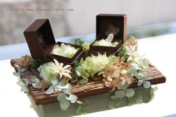 新郎新婦様からのメール 星のうさぎの庭園セット : 一会 ウエディングの花