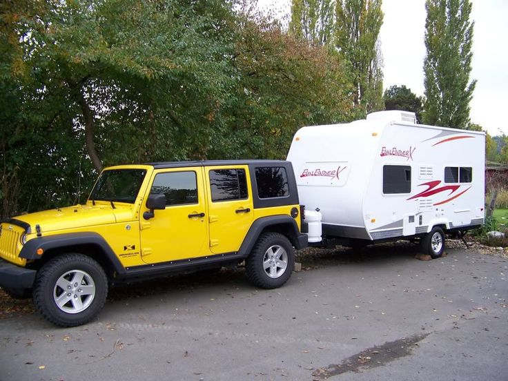 Great Towing Capacity Of Jeep Wrangler