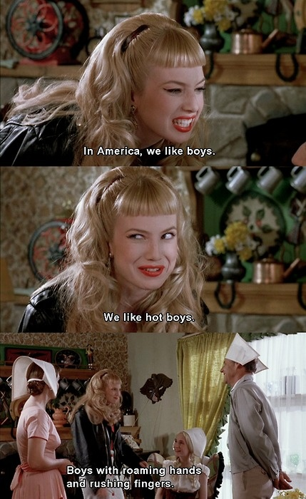 cry baby (traci) I love this movie