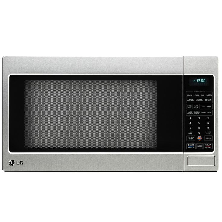 LG 2-cu ft 1200-Watt Countertop Microwave (Stainless Steel)