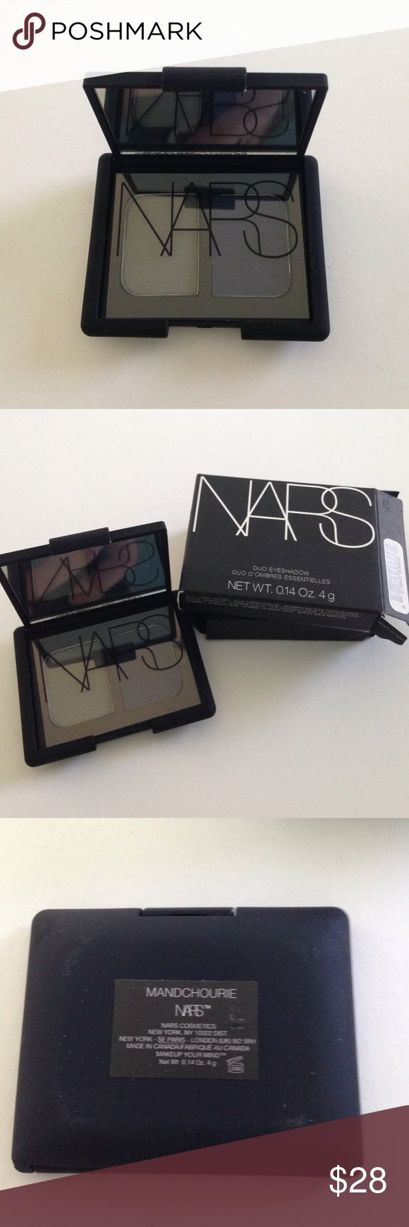 Brand New Authentic NARS Eyeshadow Duo Mandchourie 🛍Holiday Sale🛍 Brand New Authentic NARS Eyeshadow Duo Mandchourie in original packaging. Never swatched. No trades. NARS Makeup Eyeshadow