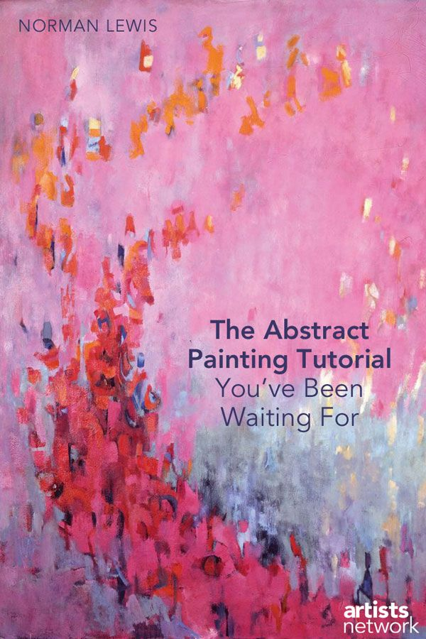Discover the many unique ways you can express yourself through abstract painting. Here's a step-by-step guide to get you started! #abstractpainting #paintingtutorials