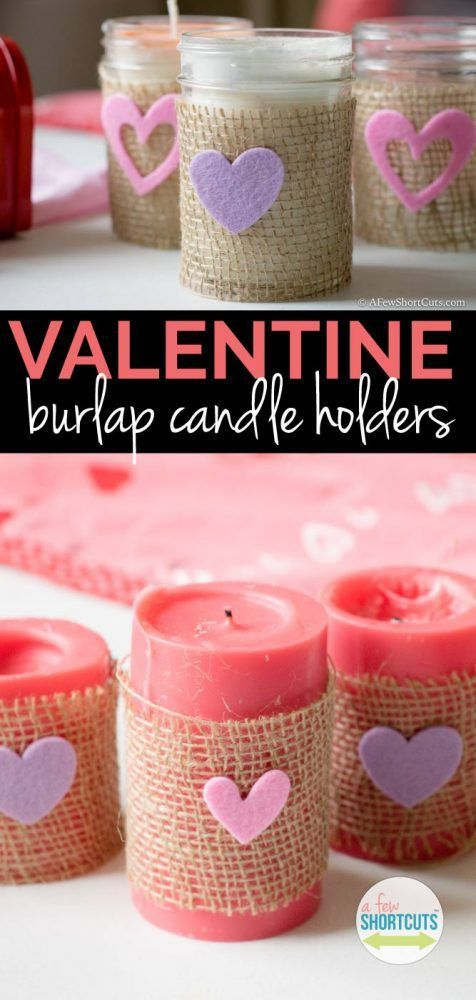 2403 best Valentine Crafts To Make images on Pinterest | Candle ...