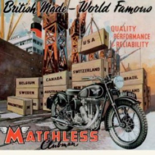 Matchless British Motorcycle