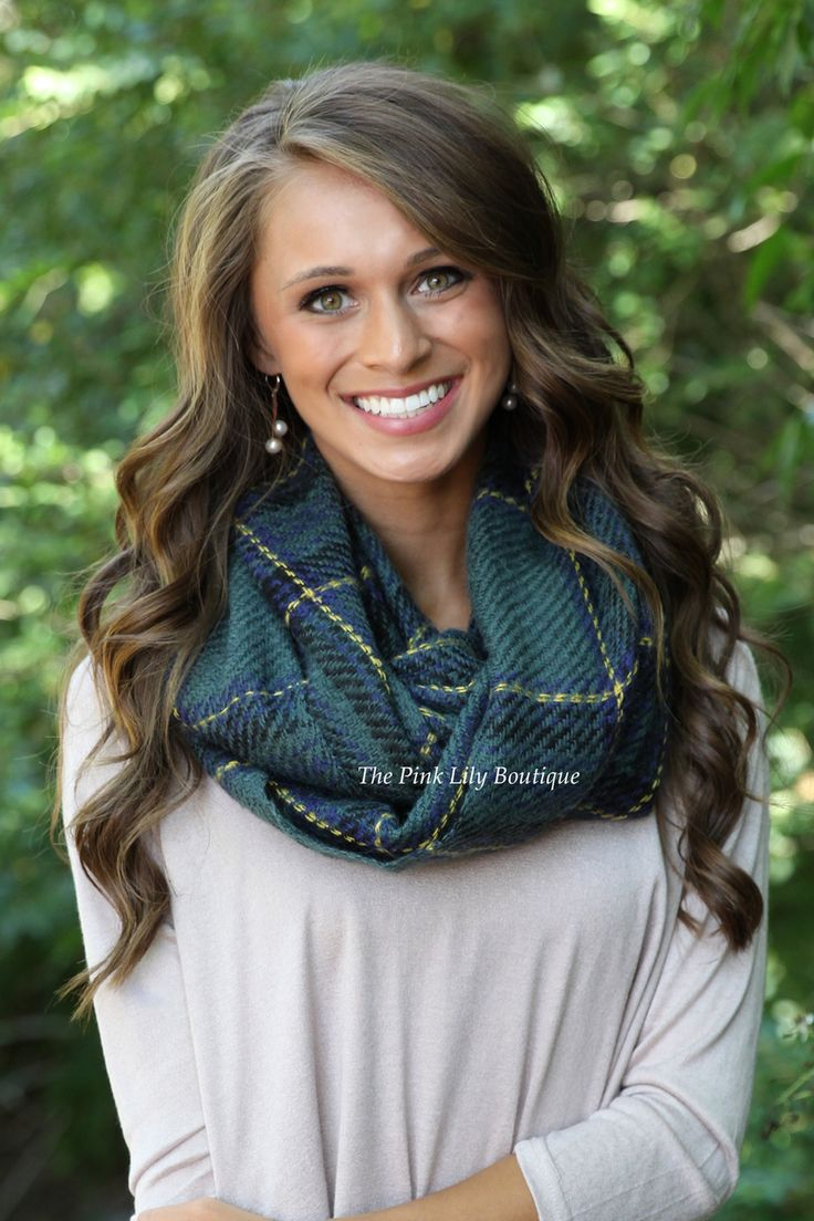 The Pink Lily Boutique - Timeless Tartan Plaid Scarf in Green , $22.00 (http://thepinklilyboutique.com/timeless-tartan-plaid-scarf-in-green/)