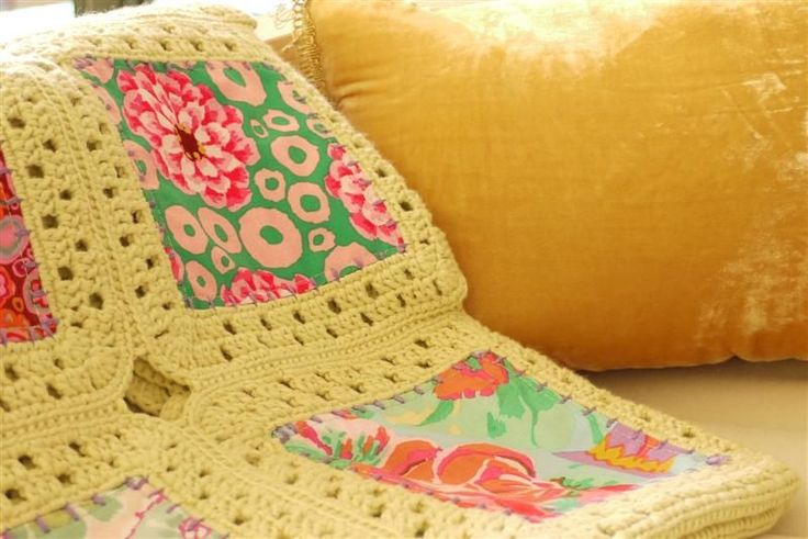 Sewing Daisies Kaffe Fusion Blanket Tutorial on Instructables