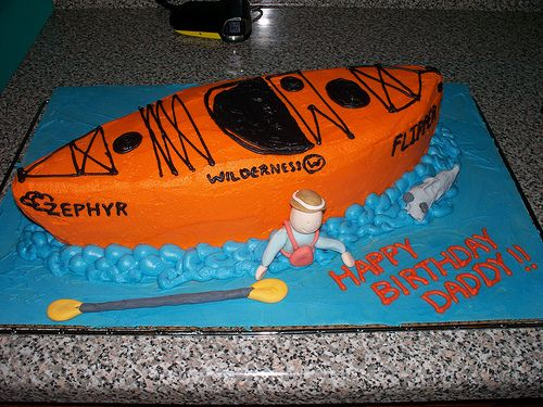 Best 20 Kayak Cake Ideas On Pinterest Surfboard Cake