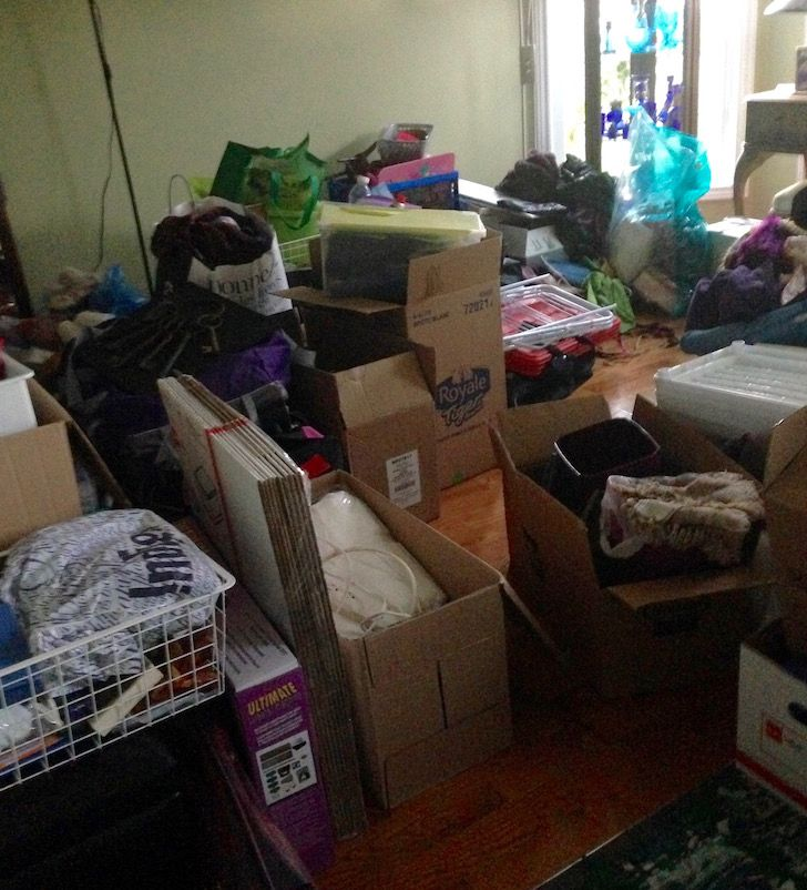 What we learned getting rid of half of our stuff!