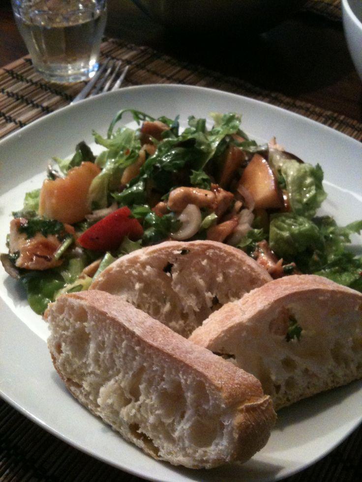 pikante kip salade