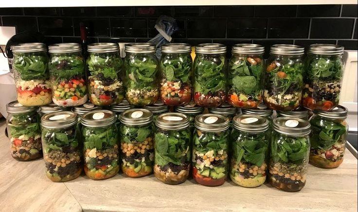 Mason Jar Salad Party - How To - Blog Post