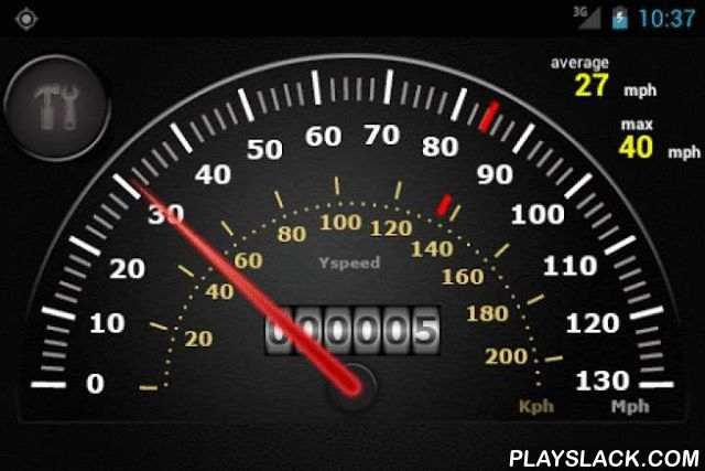 Yspeed: GPS Speedometer Android App - playslack com , YSpeed is a