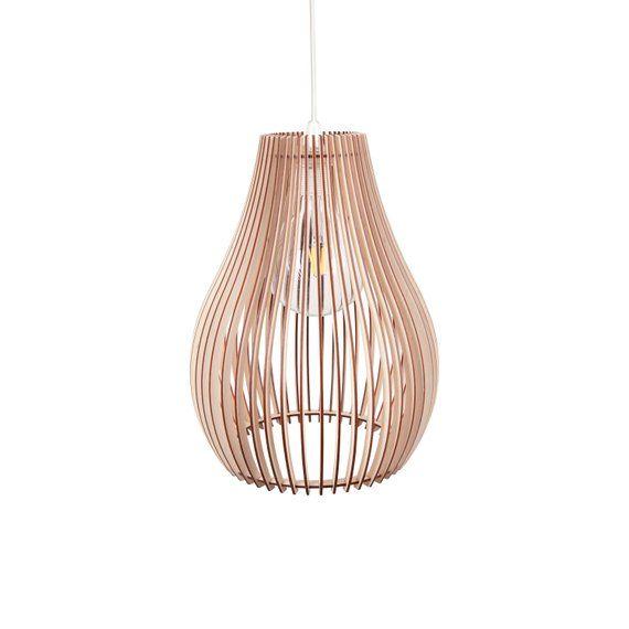 Wood Lamp Wooden Lamp Shade Hanging Lamp Pendant Light