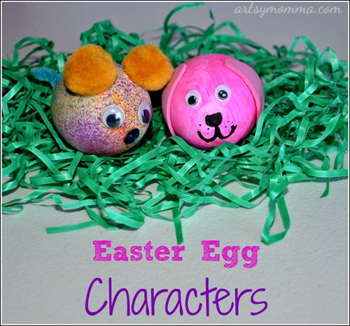 Decorating Easter Eggs With Kids Creative Challenge